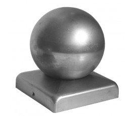 metal-plast kwadratowy daszek 60x60mm z kulą ozdobną 50mm 62.006.05