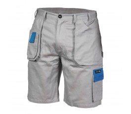 hogert spodnie krótkie robocze ld szare ht5k302-ld