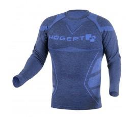 hogert bezszwowa koszulka termiczna oste m-l niebieska ht5k390-m-l