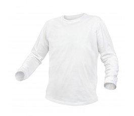 hogert koszulka bawełniana z długim rękawem l biała ht5k421-l