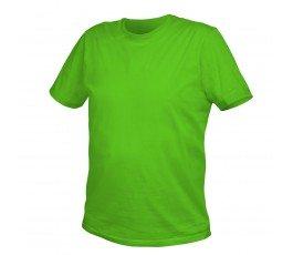 hogert t-shirt bawełniany s zielony ht5k411-s