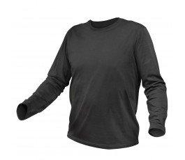 hogert koszulka bawełniana z długim rękawem s grafitowa ht5k420-s