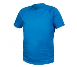 hogert t-shirt poliestrowy xxxl niebieski ht5k400-3xl