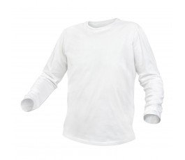 hogert koszulka bawełniana z długim rękawem xxxl biała ht5k421-3xl