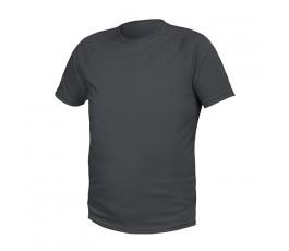 hogert t-shirt poliestrowy xl grafitowy ht5k402-xl