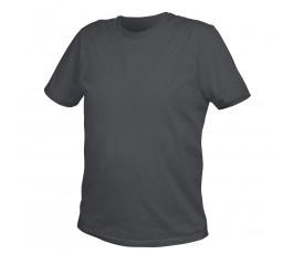 hogert t-shirt bawełniany l grafitowy ht5k410-l