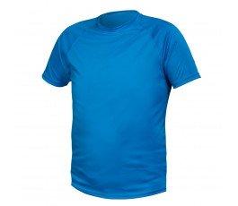 hogert t-shirt poliestrowy m niebieski ht5k400-m