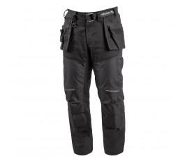 hogert spodnie z kaburowymi kieszeniami nekar xl czarne ht5k356-xl