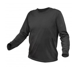 hogert koszulka bawełniana z długim rękawem xxxl grafitowa ht5k420-3xl