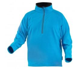 hogert bluza polarowa eder z zamkiem l niebieska ht5k375-l