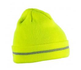 hogert czapka dzianinowa isen żółta ht5k475