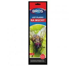 bros zestaw 5 lepów na muchy - płaskich c06040200059