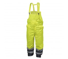 hogert spodnie ochronne z szelkami xxl ostrzegawcze ht5k250-2xl