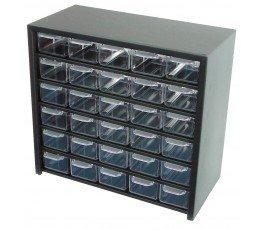 profix organizer 305x545x150mm z 60 szufladkami plastikowymi 35860