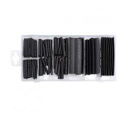 yato zestaw 127 czarnych koszulek termokurczliwych 06866