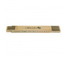 hogert miara drewniana składana 2m ht4m262