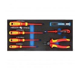 hogert zestaw 7 narzędzi do elektryki ht7g140