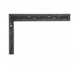 vorel kątownik metalowy czarny 300x200mm 18201