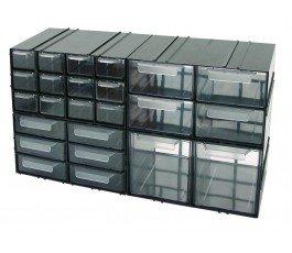 proline szafka plastikowa 125x230x140mm z 12 szufladkami 35806