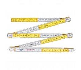 proline miara 2m drewniana 10-częściowa składana z ukrytymi nitami 13013
