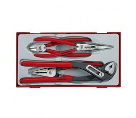 teng tools zestaw 4 szczypiec crv 44280105