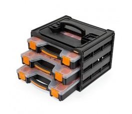 staco organizer 3-szufladkowy po 15 przegródek 88317.staco