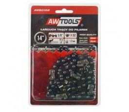 """awtools łańcuch tnący do pilarki 35cm(14"""") 3/8"""" 1.3mm 52 ogniwa do cs450 aw80102"""