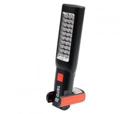 yato akumulatorowa lampa warsztatowa 3.7v 7led yt-08505
