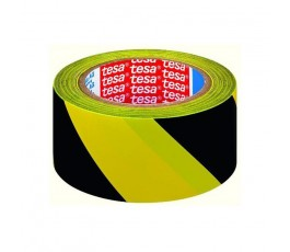 tesa taśma ostrzegawcza pvc 33mx50mm czarno-żółta h6076093