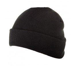 lahtipro czapka ocieplana akrylowa czarna l1922100