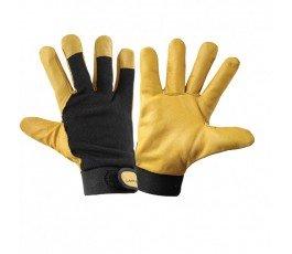 """lahtipro rękawice ocieplane brązowo-czarne rozmiar """"xxl"""" l251211k"""