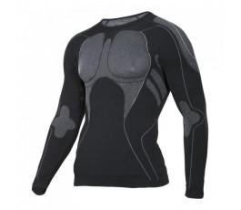 "lahtipro koszulka termoaktywna czarno-szara rozmiar ""l/xl"" l4120103"