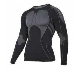 """lahtipro koszulka termoaktywna czarno-szara rozmiar """"s/m"""" l4120101"""