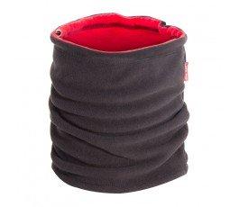 lahtipro komin wielofunkcyjny polarowy dwustronny czarno-czerwony l1030700