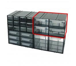 mega szafka plastikowa 125x230x140mm z 4 szufladkami px 35804