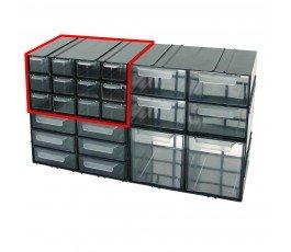 mega szafka plastikowa 125x230x140mm z 12 szufladkami px 35806