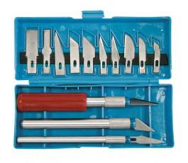proline komplet 3 nożyków precyzyjnych z 13 ostrzami 30216