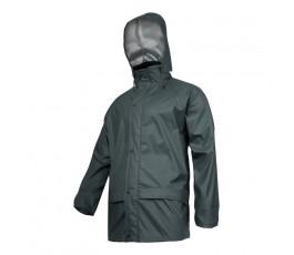"""lahtipro kurtka przeciwdeszczowa rozmiar """"m"""" zielona l4091802"""