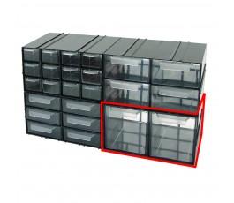 mega szafka plastikowa 125x230x140mm z 2 szufladkami px 35803