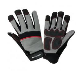lahtipro rękawice warsztatowe rozmiar xl (10) czarno-szare l280910k