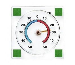 awtools termometr zaokienny bimetaliczny 75x75mm ter440