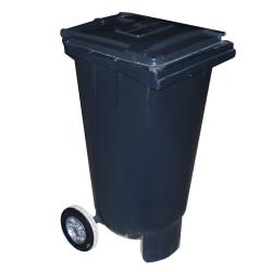 mec pojemnik na odpady czarny 120l mgb 120
