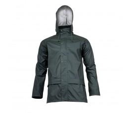 """lahtipro kurtka przeciwdeszczowa rozmiar """"xxxl"""" zielona l4091806"""