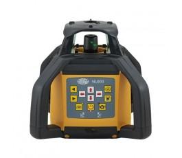 nivel system niwelator laserowy nl600 z czujnikiem cyfrowym rd500 digital statywem i łatą 435981