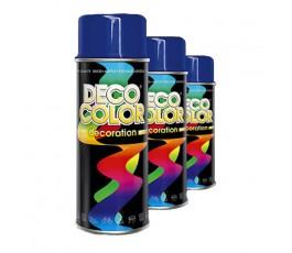 deco color lakier uniwersalny czarny połysk 400ml 10140 [#000000]