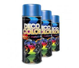 deco color lakier akrylowy metallic niebieski 400ml 15390 [#005c99]
