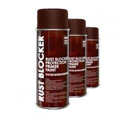 deco color lakier ochronny rust blocker na rdzę czerwony 400ml 18300 [#c0011c]