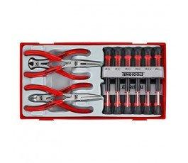 teng tools zestaw 12 wkrętaków i 4 szczypiec ttmi16 104450101