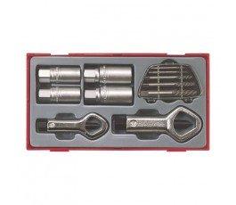 teng tools zestaw 11 elementów do demontażu śrub 69340107