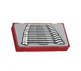 teng tools zestaw 12 kluczy płasko-oczkowych crv 238490106